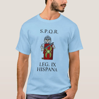 Legión romana IX Camiseta