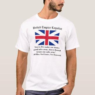 Legitimista unido del imperio camiseta