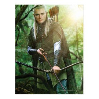 Legolas con el arco postales
