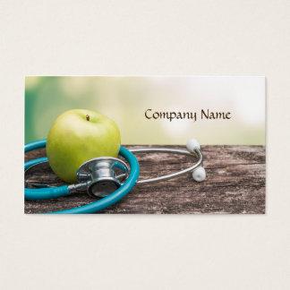 Legumbres de frutas/vida sana/tarjeta vegetariana tarjeta de negocios