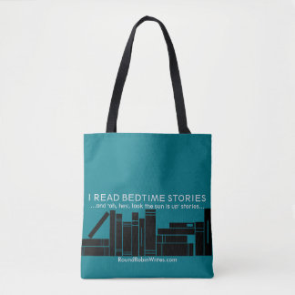Leí los cuentos (el tote) bolso de tela