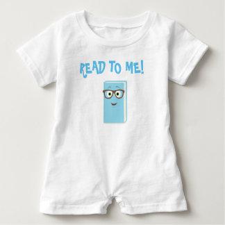 ¡Leído a mí! Mameluco Camisetas