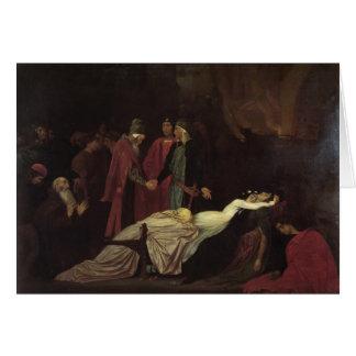 Leighton-Reconciliación de Federico de Montagues Tarjeton