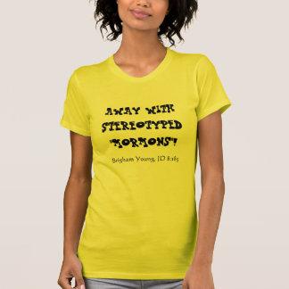 Lejos con los mormones estereotipados, Brigham Camiseta