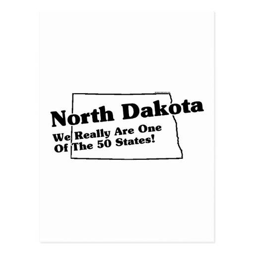 Lema del estado de Dakota del Norte Postal