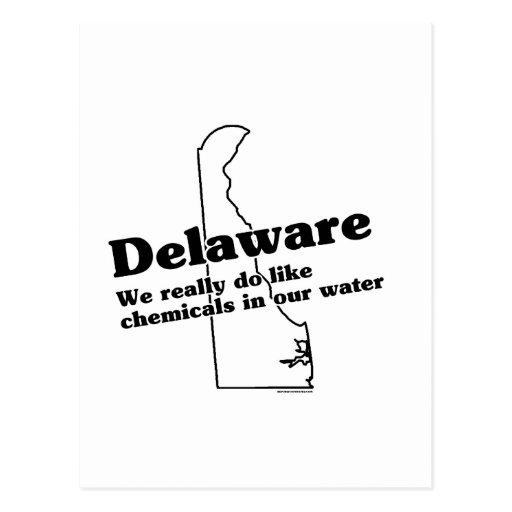 Lema del estado de Delaware Postal