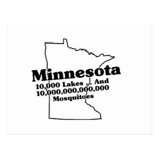 Lema del estado de Minnesota Tarjetas Postales