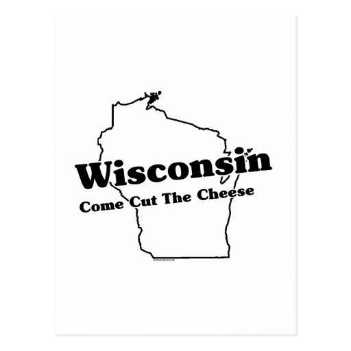Lema del estado de Wisconsin Tarjetas Postales