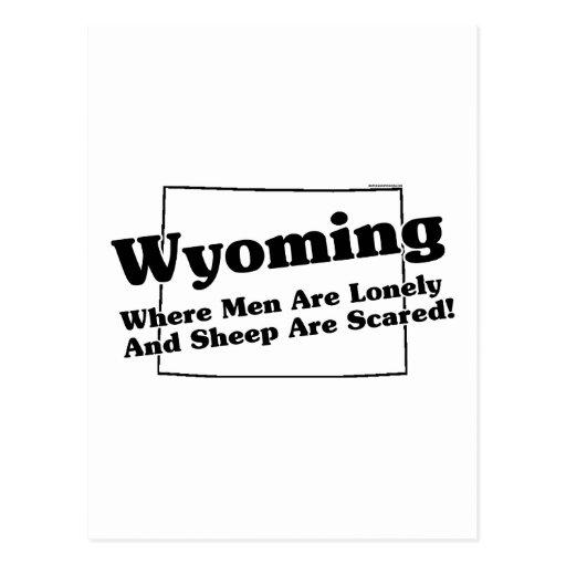Lema del estado de Wyoming Postal