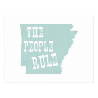 Lema del lema del estado de Arkansas Postal