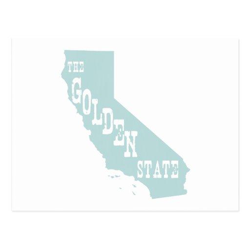 Lema del lema del estado de California Tarjetas Postales
