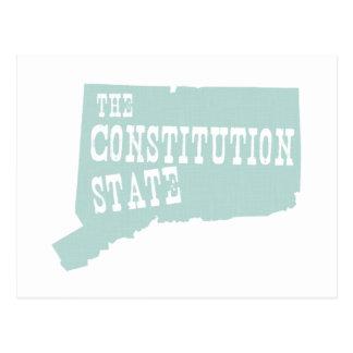 Lema del lema del estado de Connecticut Postal