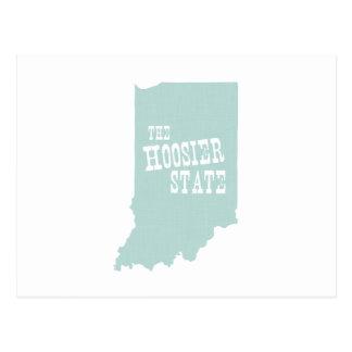 Lema del lema del estado de Indiana Postal