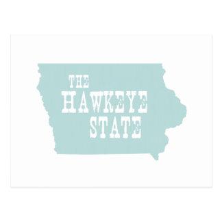 Lema del lema del estado de Iowa Postal