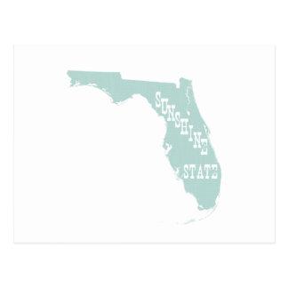 Lema del lema del estado de la Florida Postales