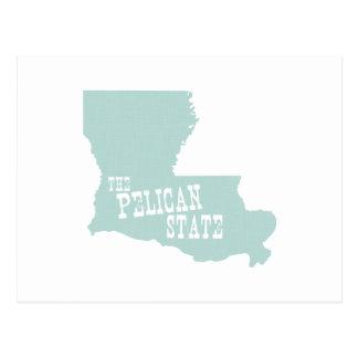 Lema del lema del estado de Luisiana Postal
