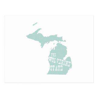 Lema del lema del estado de Michigan Postal