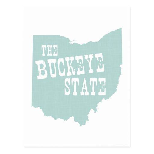 Lema del lema del estado de Ohio Tarjeta Postal