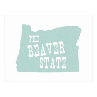 Lema del lema del estado de Oregon Postal