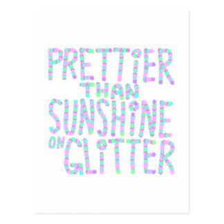 Lema - más bonito que la sol en brillo tarjetas postales