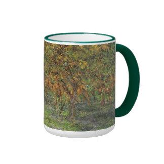 Lemon Grove en Bordighera de Claude Monet Taza De Dos Colores