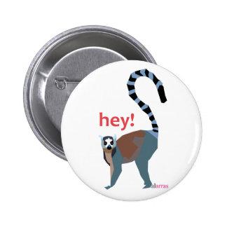 lemur chapa redonda de 5 cm