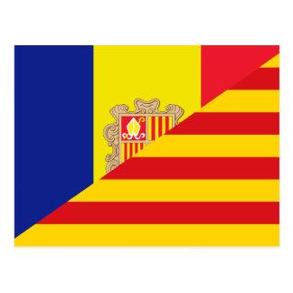 Lengua catalana, híbridos tarjetas postales