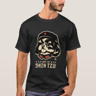 Lengua del presidente SHIH-TZU Camiseta