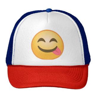 Lengua lateral Emoji Gorro