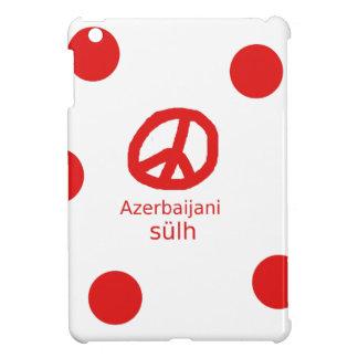 Lengua y diseño azerbaiyanos del símbolo de paz