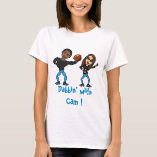 Lenguado con la leva camiseta