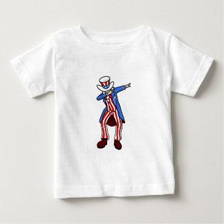 Lenguado del tío Sam Camiseta De Bebé