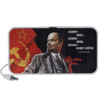 Lenin - comunista ruso mini altavoces