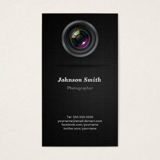 Lente de cámara - muestre su mejor foto en la tarjeta de negocios