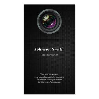 Lente de cámara - muestre su mejor foto en la tarjetas de visita