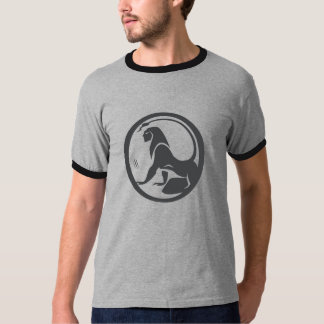 Leo de rugido camisetas