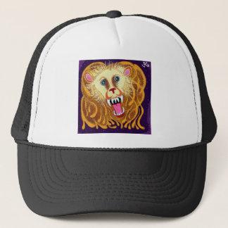 Leo el león de oro gorra de camionero