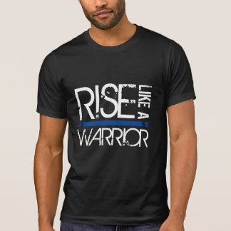 "LEO ""subida como un guerrero"" Blue Line fino junta Camiseta"