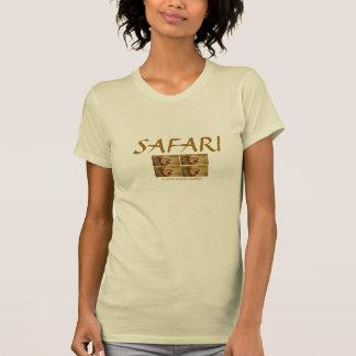 León: Camiseta del safari de las señoras