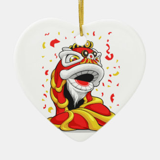 León chino del Año Nuevo Ornamento De Reyes Magos