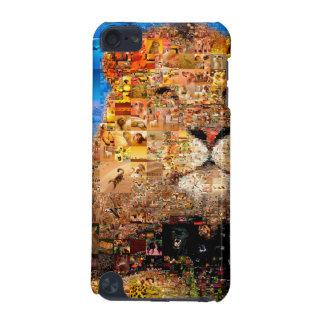 león - collage del león - mosaico del león - león carcasa para iPod touch 5G