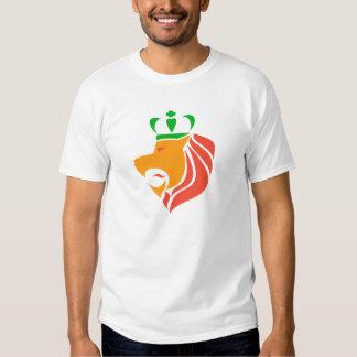 León coronado reggae de Rasta Camisas