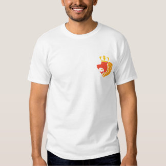 León coronado reggae de Rasta Camiseta