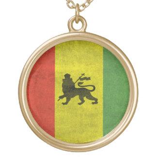 León de Judah Collar Dorado