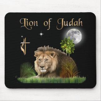 León de la camiseta y más del judah alfombrilla de ratón