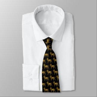 León de oro TP Corbata Personalizada
