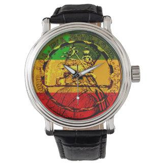León de Rasta de los diseños clasificados reloj de