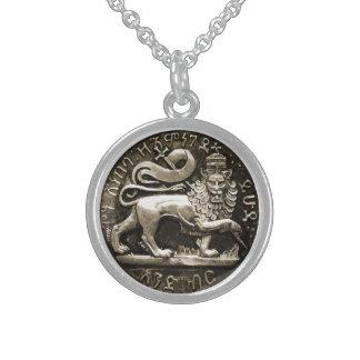 León de Rasta del colgante de la plata esterlina