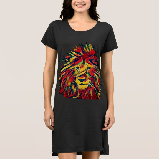 León de Rasta Vestido