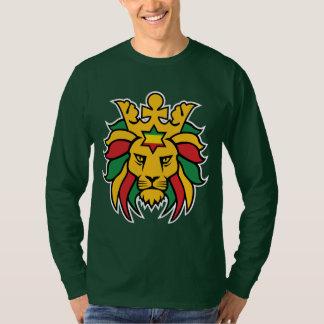 León de Rastafari de Judah Camiseta